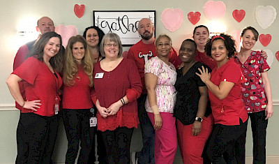 Touchpoints at Farmington, Wear Red for Women, Heart Health, iCare Health Network, David Skoczulek